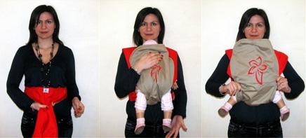 Μπορείς να επιλέξεις πόσο ανοιχτά θέλεις να έχει τα πόδια του το μωρό σου στο μάρσιπο!