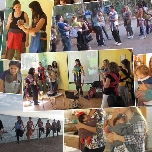 Εκδηλώσεις και συναντήσεις για τη Διεθνή Εβδομάδα Babywearing 2013 στην Ελλάδα
