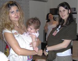 Συνάντηση babywearing