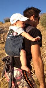 Ανάβαση στο βουνό με το μωρό