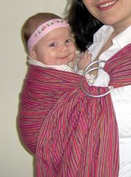 Άνεση και ασφάλεια σε μάρσιπο αγκαλιάς
