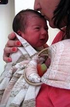 Βγαίνοντας από το μαιευτήριο με το μωρό