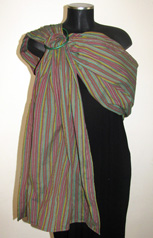Cotton woven ring sling