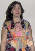 ή με τα χέρια του μωρού έξω