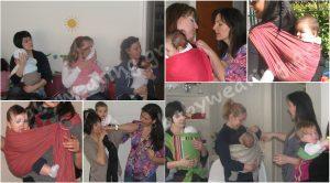 Δωρεάν σεμινάριο για μωρά και μάρσιπους αγκαλιάς