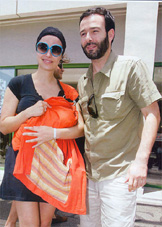 Ο Θανάσης Ευθυμιάδης και η Άννα Ντιμιτρίεβιτς, απ' τους πρώτους διδάξαντες, έβγαλαν το κοριτσάκι τους απ' το μαιευτήριο με ένα Αστεράκι!