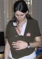 Μωράκι σε μάρσιπο wrap