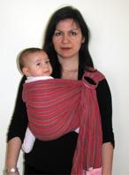Πώς να φορέσεις το μωρό στην πλάτη με sling