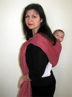 Άλλος τρόπος για μικρά μωρά με στήριξη στους δύο ώμους