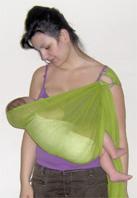 Θηλασμός μωρού σε μάρσιππο sling
