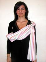 Babywearing - Μωράκι ψηλά στον ώμο (θέση ρεψίματος)