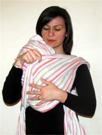 Babywearing - Burp position