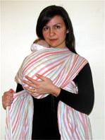 Με δύο slings για να είναι το μωράκι σου ψηλά στον ώμο