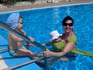 """Με τα δύο παιδιά μου στις καλοκαιρινές διακοπές!"""" title=""""Με τα δύο παιδιά μου στις καλοκαιρινές διακοπές!"""