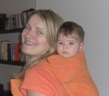 Φωτογραφία από συνάντηση babywearing