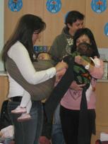 Δωρεάν μαθήματα babywearing