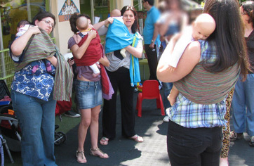 Δωρεάν συνάντηση babywearing στο Ηράκλειο Κρήτης