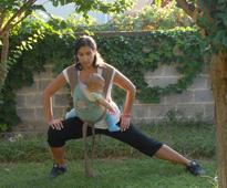 Γυμναστικές ασκήσεις για μαμάδες με μωρό σε μάρσιπο