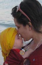 Φιλιάκια με το μωράκι!