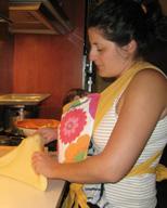 Φτιάχνω πίτα με το μωρό