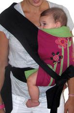 Ιδανική θέση του μωρού για τα ισχία