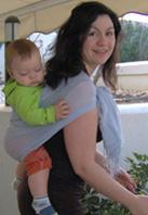 Θέση κατάλληλη για μωρά που κάθονται μόνα τους, από 6,5 μηνών περίπου