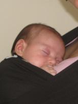 Ήσυχα μωρά σε Αστεράκι sling
