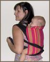 Εύκολος τρόπος για να φορέσεις το μωρό στην πλάτη