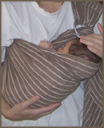 """Ξαπλωμένο στο μάρσιπο - από νεογέννητο"""" title=""""Ξαπλωμένο στο μαρσιπο - από νεογέννητο"""