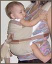 Πώς να φορέσεις το μωρό σου μπροστά στην αγκαλιά σου