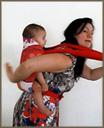 Όλοι οι διαφορετικοί τρόπο για να ακουμπήσεις το μωρό στην πλάτη σου