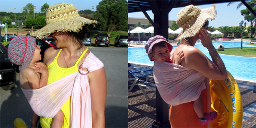Καλοκαιρινές διακοπές με παιδί στο μάρσιπο
