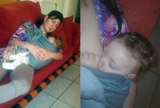 """Το μωρό μου δεν είναι το μόνο που αποκοιμήθηκε την ώρα του θηλασμού!"""" title=""""Το μωρό μου δεν είναι το μόνο που αποκοιμήθηκε την ώρα του θηλασμού!"""