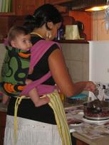 Μαγείρεμα με το μωρό