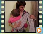 Μαμάδες φοράνε μάρσιπο sling με το μωρό τους