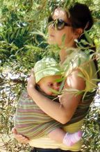 Μαμά και μωράκι