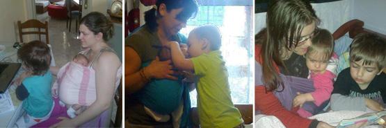 Μαμάδες με δύο παιδιά τα καταφέρνουν εύκολα με μάρσιπο Αστεράκι