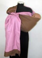 Μάρσιπος αγκαλιάς ring sling διπλής όψης