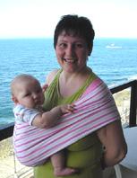 Με το μωρό σε pouch