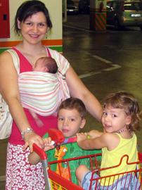 Μάρσιπος αγκαλιάς: αναγκαία αγορά για νεογέννητο;
