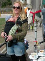 Με νεογέννητο μωράκι για καφέ