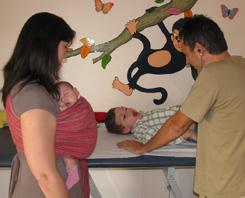 Με το μωρό στον παιδίατρο