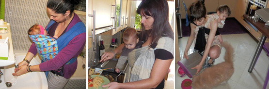 Με το μωρό στο σπίτι
