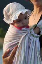 Μωράκι σε μάρσιπο Αστεράκι