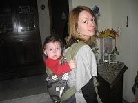 Μωράκι στην πλάτη με mei tai