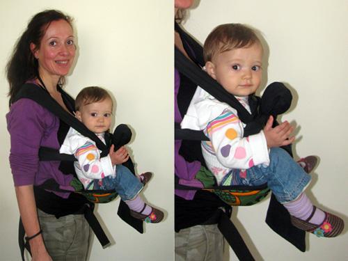 Μωρό που βλέπει μπροστά σε μάρσιπο Αστεράκι