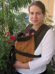 Νεογέννητο σε μαρσιπο