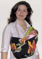 """Νεογέννητο μωρό σε pouch"""" title=""""Νεογέννητο μωρό σε pouch"""