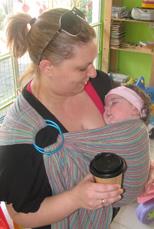 Παντού μαζί με το μωρό, σε μάρσιπο Αστεράκι