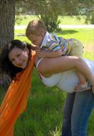 Πώς να φορέσεις το μωρό σου στην πλάτη με μάρσιπο ύφασμα (wrap)
